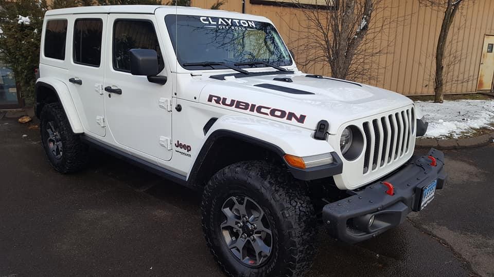 2018 Jeep Wrangler Jl Build Clayton Offroad