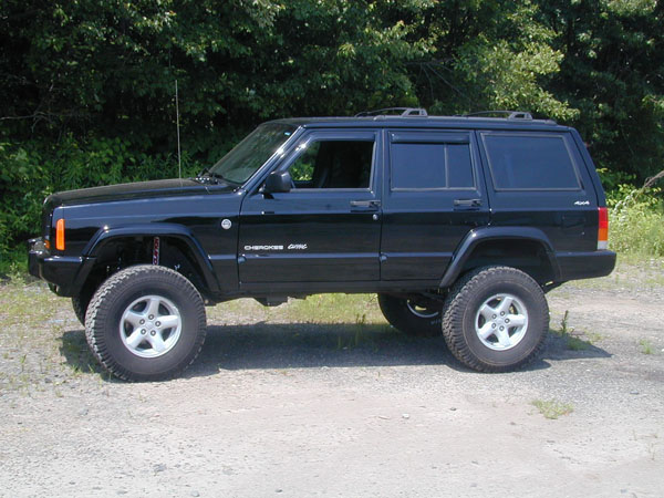 "Jeep Cherokee 4.5"" Premium Short Arm Lift Kit 1984-2001 ..."