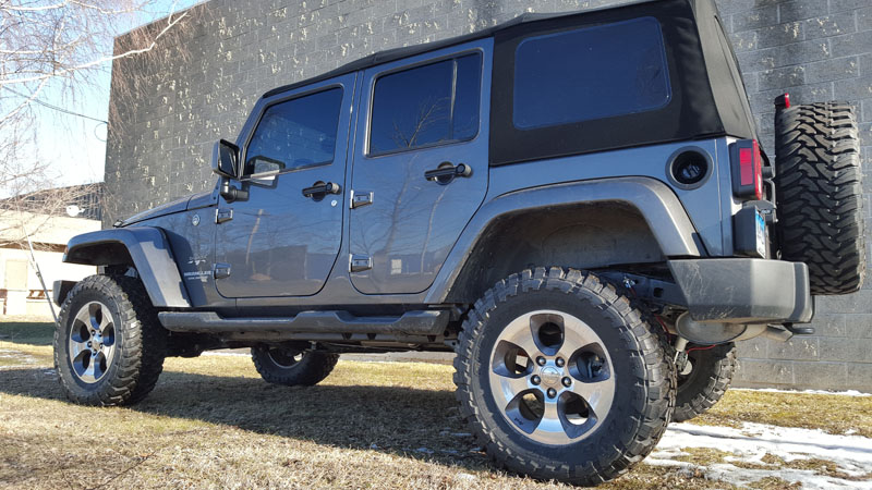 Lifted Black Jk >> Jeep Coil Springs | Clayton Offroad