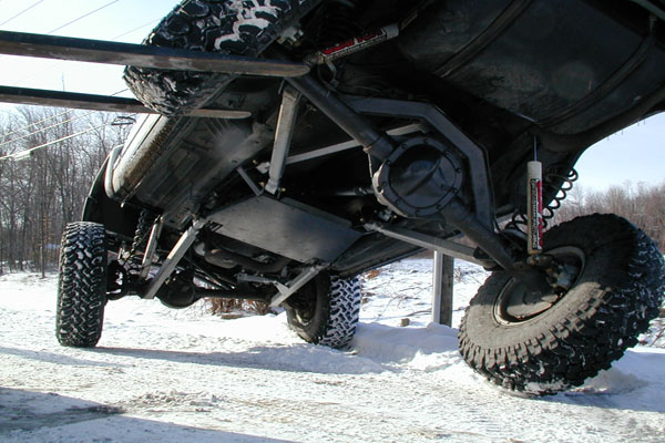 Xj 1 4 Quot Transfer Case Skid Plate Clayton Offroad