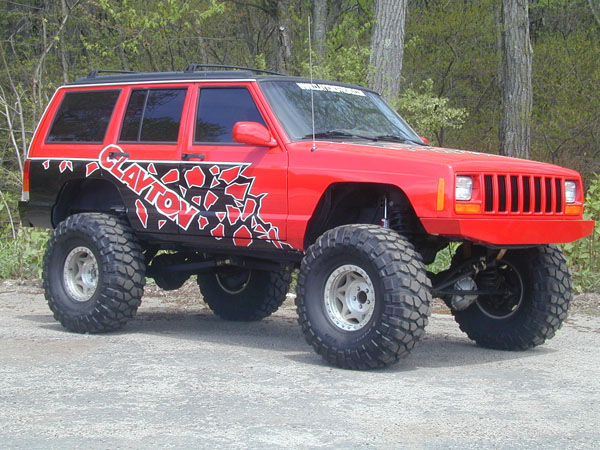 Jeep Cherokee Xj 3 Link Long Arm Lift Kits Clayton Offroad