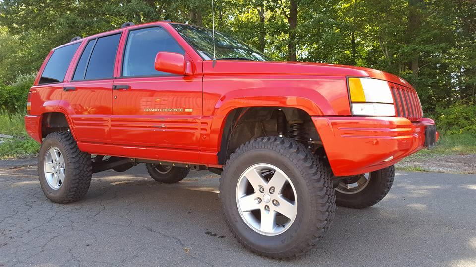 "Lifted Jeep Cherokee >> Jeep Grand Cherokee 5.0"" Long Arm Lift Kit 1993-1995, ZJ | Clayton Offroad"
