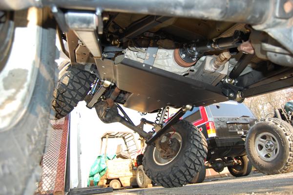 Jeep Wrangler TJ 3 Link Stretch Lift Kits Clayton Offroad