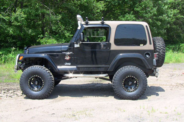 Jeep Wrangler 5 5 Quot Long Arm Lift Kit 1997 2006 Tj