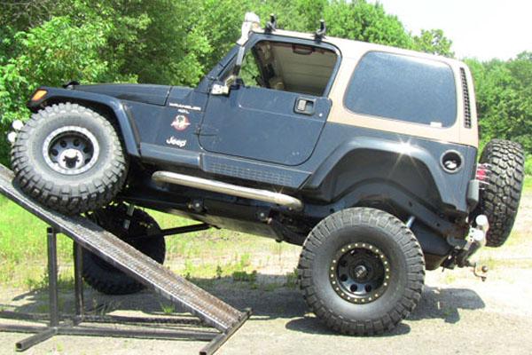 jeep wrangler rear long arm upgrade kit 1997 2006 tj clayton offroad. Black Bedroom Furniture Sets. Home Design Ideas