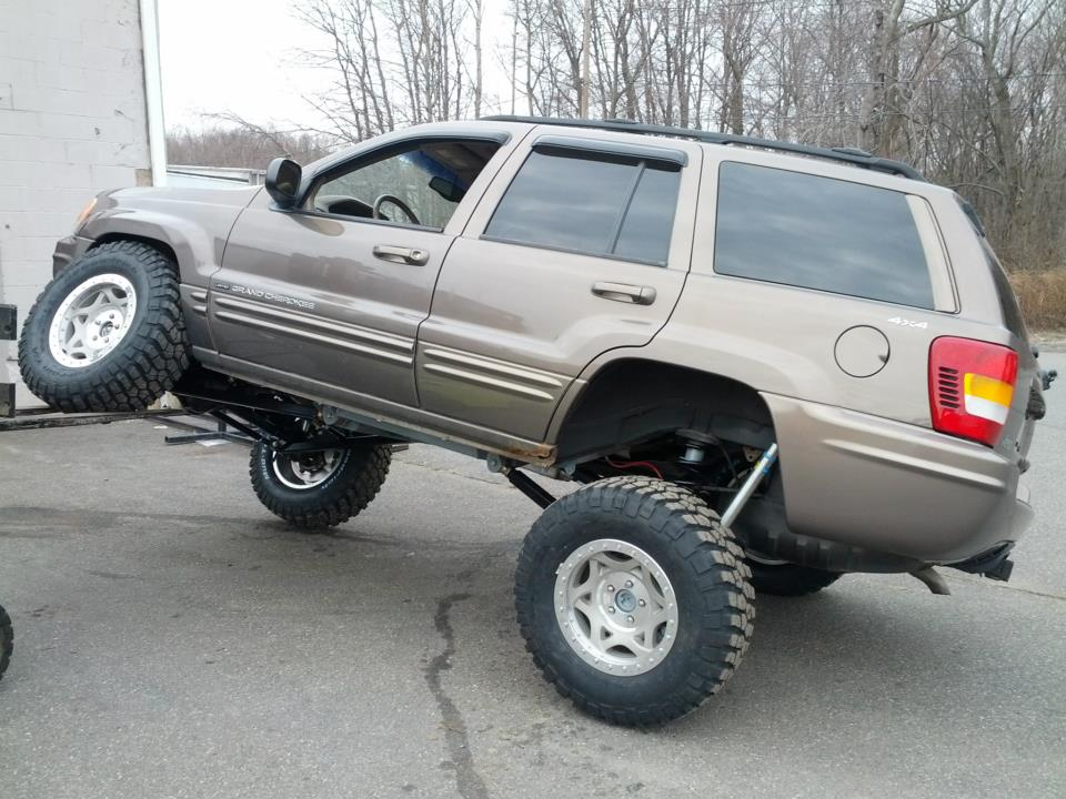 Get Lifted 2003 Jeep Grand Cherokee Laredo