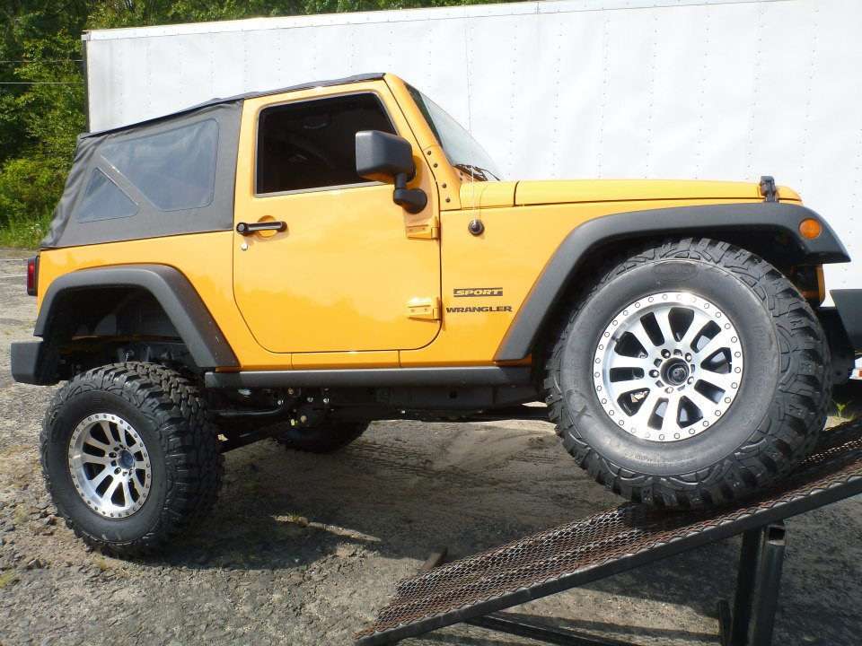 jk jeep kits country rough installed suspension unlimited lift kit for