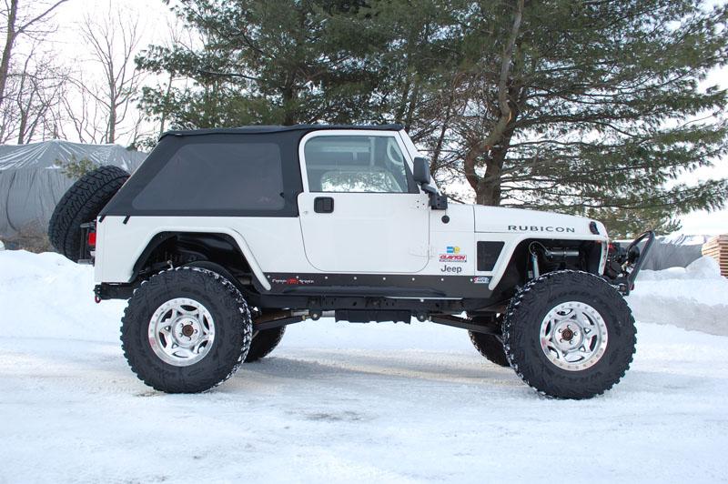jeep wrangler front long arm upgrade kit 2004 2006 lj clayton offroad. Black Bedroom Furniture Sets. Home Design Ideas