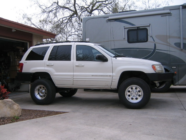 View 4 Inch 2002 Jeep Grand Cherokee Lift Kit