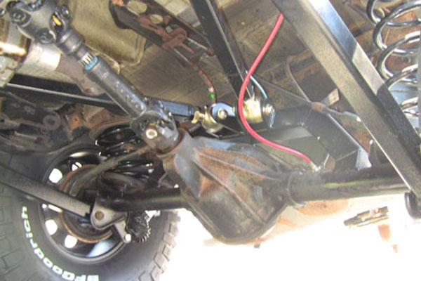 WJ Rear Axle Bracket Kit Clayton Off Road COR-1206130