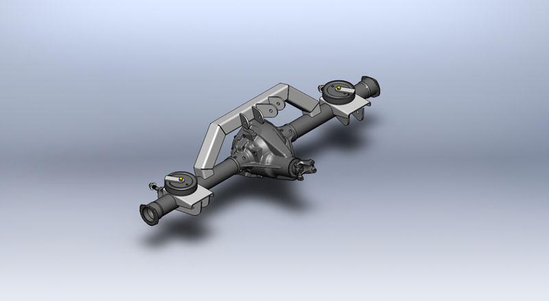 XJ Rear Coil Conversion Axle Bracket Kit | Clayton Offroad