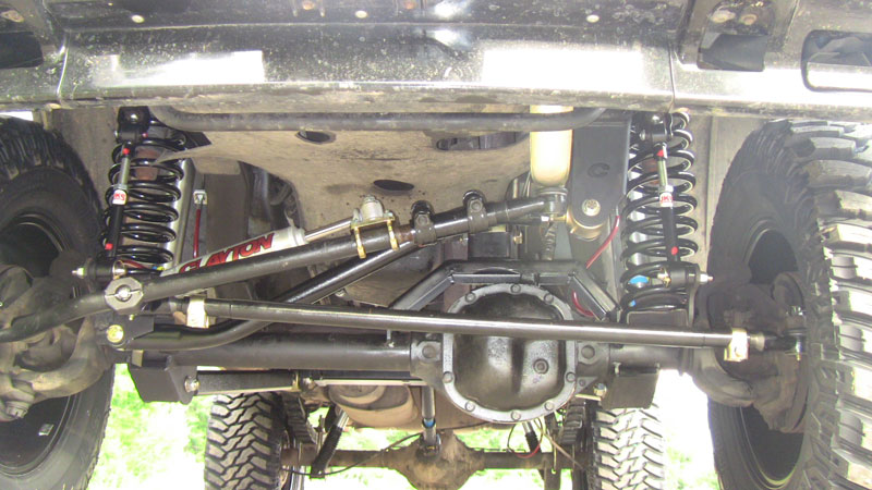 """For Jeep Cherokee 1984-2001 Clayton Off Road 6.5/"""" Front Lifted Coil Springs"""