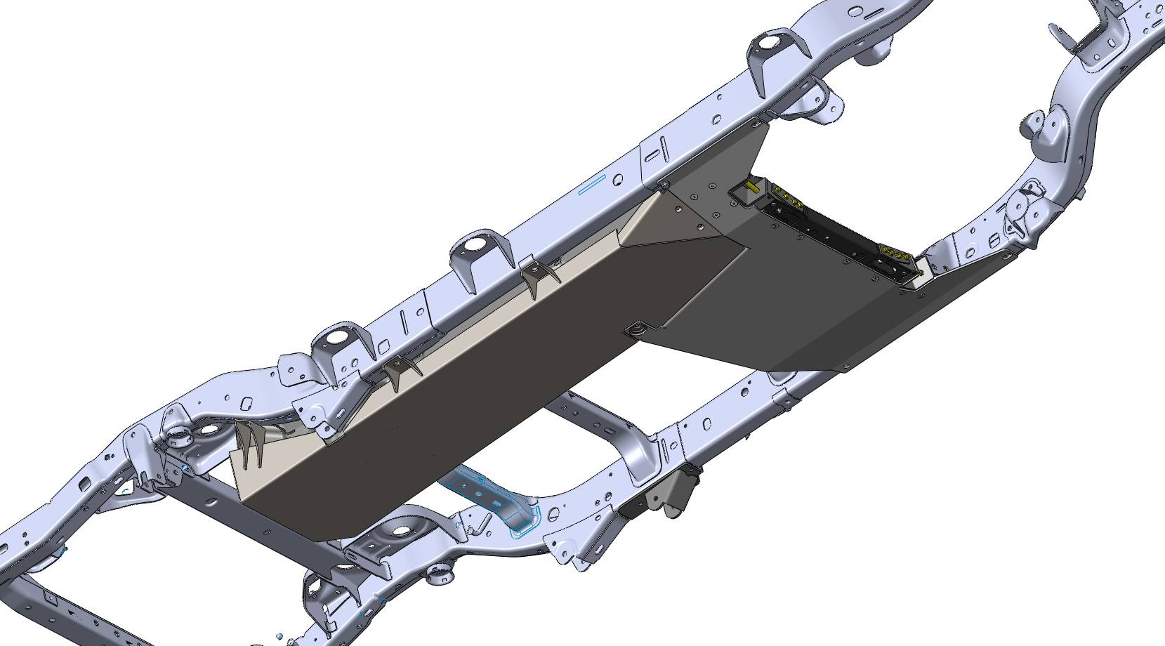 Jeep Wrangler Gas Tank Skid Plate 4 Door 2007 2017 Jk Clayton Offroad Diagram View The Full Image