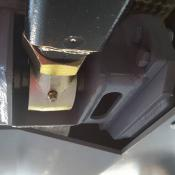 New front pocket style control arm mounts.
