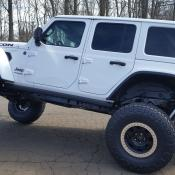 "Jeep Wrangler JL Rubicon on 37"" Nittos with Raceline 17x8.5 Beadlocks with 4.75 back spacing"