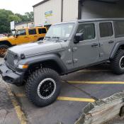 "JEEP WRANGLER JL SPORT on 35"" tires with 2.5"" OVERLAND PLUS LIFT KIT"