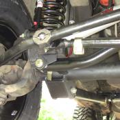 Jeep Front Lower Control Arm Brackets