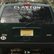 Windshield Stickers Clayton Offroad