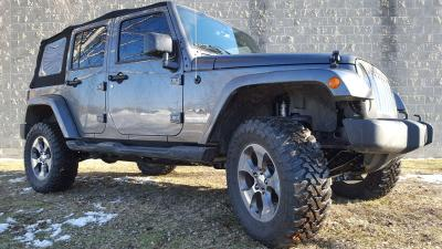 "Jeep Wrangler JK lift kit, JK lift kit, JK 2.5"" lift, JK suspension system, Clayton Off Road lift kit"