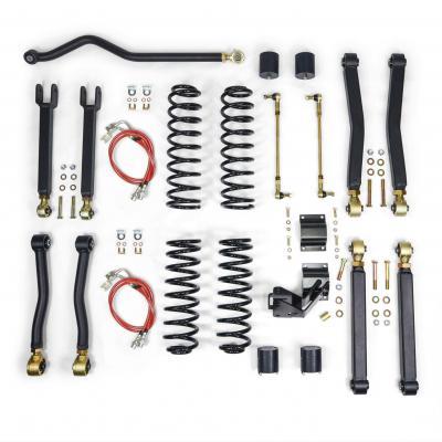 """Jeep Wrangler JK lift kit, JK lift kit, JK 3.5"""" lift, JK suspension system, Clayton Off Road lift kit"""
