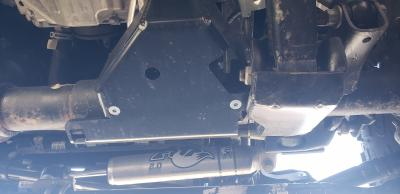 Front Axle Disconnect Skid Plate, JL, JT, Jeep Wrangler