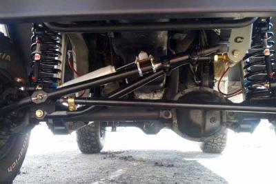 clayton off road, jeep parts, adjustable track bar
