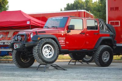 """Jeep Wrangler JK lift kit, JK lift kit, JK 4.5"""" lift, JK suspension system, Clayton Off Road lift kit"""