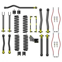 "Jeep Wrangler JK lift kit, JK lift kit, JK 4.5"" lift, JK suspension system, Clayton Off Road lift kit"
